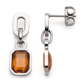 Leonardo 018394 Women's Drop Earrings Candela Stainless Steel