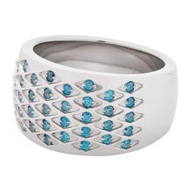 Leonardo 01680 Ladies' Ring Rombo