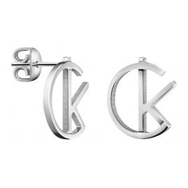 CALVIN KLEIN KJ6DME0002 League Stud Earrings for Ladies