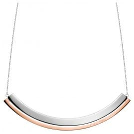CALVIN KLEIN KJ6APJ2001 Ladies Necklace Unite Stainless Steel Two-Colour Rose Gold