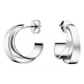 Calvin Klein KJ5ZME0001 Loop Damen-Creolen