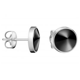 CALVIN KLEIN KJAQME0904 Ladies' Stud Earrings Stainless Steel Empower