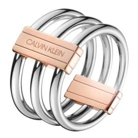 Calvin Klein KJBDPR200 Damen-Ring In Sync