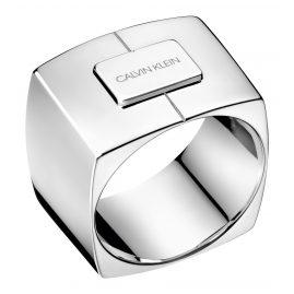 Calvin Klein KJAHMR0001 Ring Assert Silberfarben