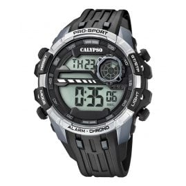 Calypso K5729/1 Digital Watch Alarm Chronograph