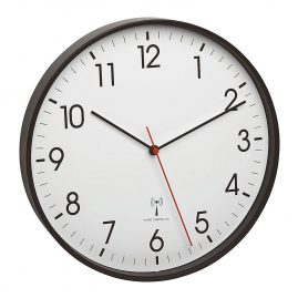 TFA 60.3537.01 Radio-Controlled Wall Clock Black/White