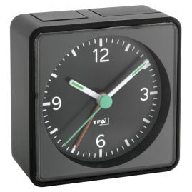 TFA 60.1013.01 Electronic Alarm Clock Push Black