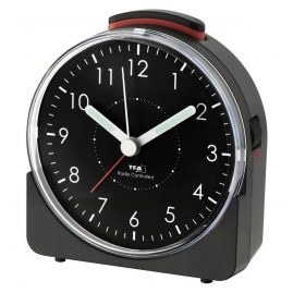 TFA 60.1513.01 Radio-Controlled Alarm Clock Sunrise Black