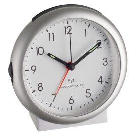 TFA 98.1036 Radio-Controlled Alarm Clock Silver