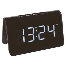 TFA 60.2543.02 Radio-Controlled Alarm Clock Icon Black/White