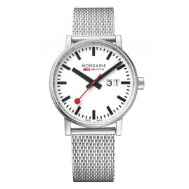 Mondaine MSE.40210.SM Men's Watch with Mesh Strap evo2