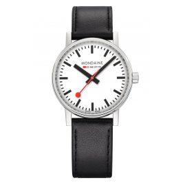 Mondaine MSE.35110.LB Armbanduhr in Unisex-Größe evo2