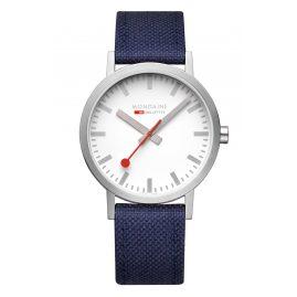 Mondaine A660.30360.17SBD1 Herren-Armbanduhr SSB Classic Blau