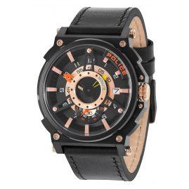 Police PL15048JSB.02 Mens Watch Compass Black/Rose