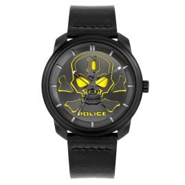 Police PL15714JSB.02 Men's Watch Bleder Black