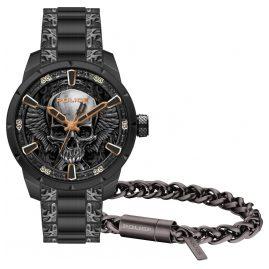 Police FW19-XMAS-SET Geschenkset Herrenuhr + Armband Santorin