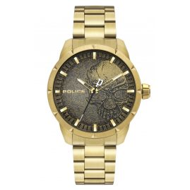 Police PL15715JSG.02AM Men's Watch Neist Gold Tone