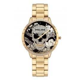Police PL16067MSG.02M Women's Watch Horta Gold Tone