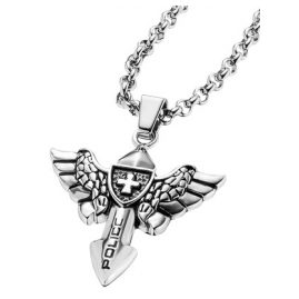 Police PJ25708PSS-01 Viking Mens Necklace