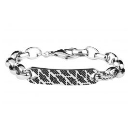 Police PJ26355BSS.01 Men's Stainless Steel Bracelet Hervey