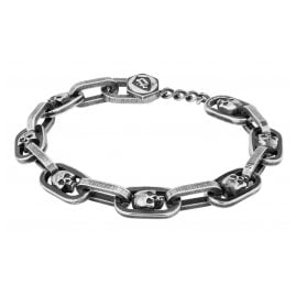 Police PEJGB2008901 Men's Bracelet Harington Blackened