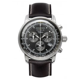 Zeppelin 7680-2 Graf Zeppelin Chronograph Mens Watch