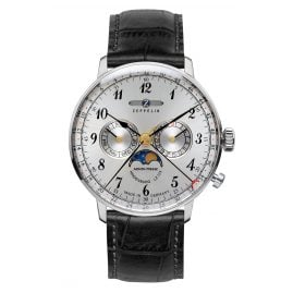 Zeppelin 7036-1 Mens Watch with Moonphase