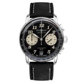 Zeppelin 8674-3 Mens Watch Chronograph LZ127 Graf Zeppelin