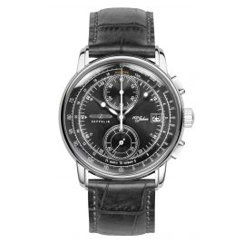 Zeppelin 8670-2 Men's Watch Chronograph 100 Jahre Zeppelin Ed. 1