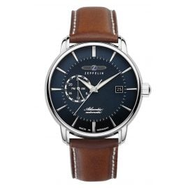 Zeppelin 8470-3 Men's Watch Automatic Atlantic Brown Leather Strap