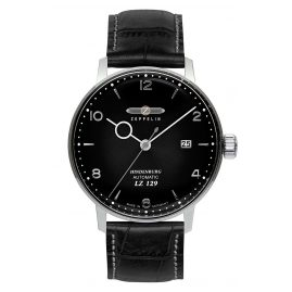 Zeppelin 8062-2 Men's Watch Automatic LZ129 Hindenburg with Black Leather Strap