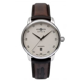Zeppelin 8652-5 Herrenuhr New Captain's Line Automatic Swiss