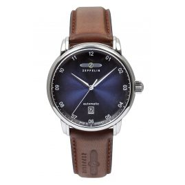 Zeppelin 8652-3 Herren-Armbanduhr New Captain's Line Automatic Swiss