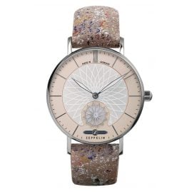 Zeppelin 8131-5 Ladies' Watch Mandala with Leather Strap