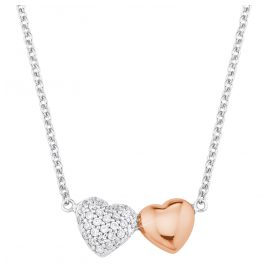 s.Oliver 2024207 Silver Ladies' Necklace with Heart Pendant