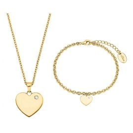 s.Oliver 2027003 Gift Set Ladies' Necklace and Bracelet