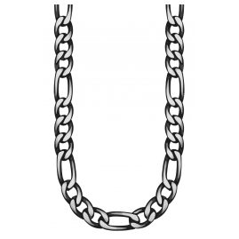 s.Oliver 2028441 Men's Necklace Blackened Stainless Steel