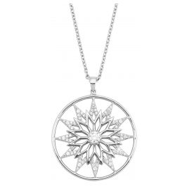 s.Oliver 2028517 Women's Necklace Snowflake Silver