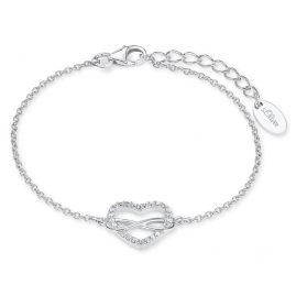 s.Oliver 2020972 Silber-Damenarmband Unendliche Liebe