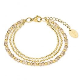 s.Oliver 2026182 Bracelet for Ladies Gold-Plated