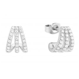 s.Oliver 2027607 Ladies Earrings Silver 925 Zirconia