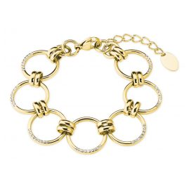 s.Oliver 2027627 Ladies' Bracelet Gold Plated Stainless Steel