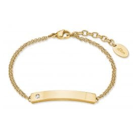 s.Oliver 2028471 Women's Bracelet Gold Plated Steel