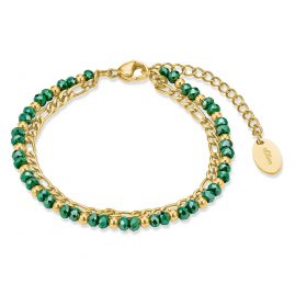 s.Oliver 2028483 Ladies' Bracelet Gold Plated Steel
