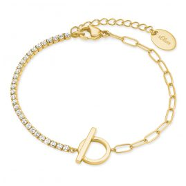 s.Oliver 2028513 Women's Bracelet Gold Plated Silver