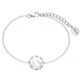 s.Oliver 2025615 Women's Bracelet Globe Silver