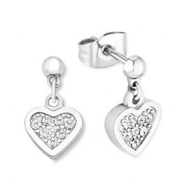 s.Oliver 2015003 Stud Earrings Heart