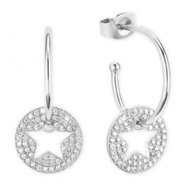 s.Oliver 2026090 Silver Earrings with Star