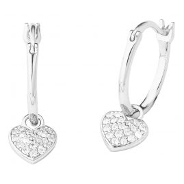 s.Oliver 2027840 Silver Earrings with Heart