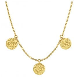 s.Oliver 2027551 Women's Pendant Necklace Gold Plated Silver